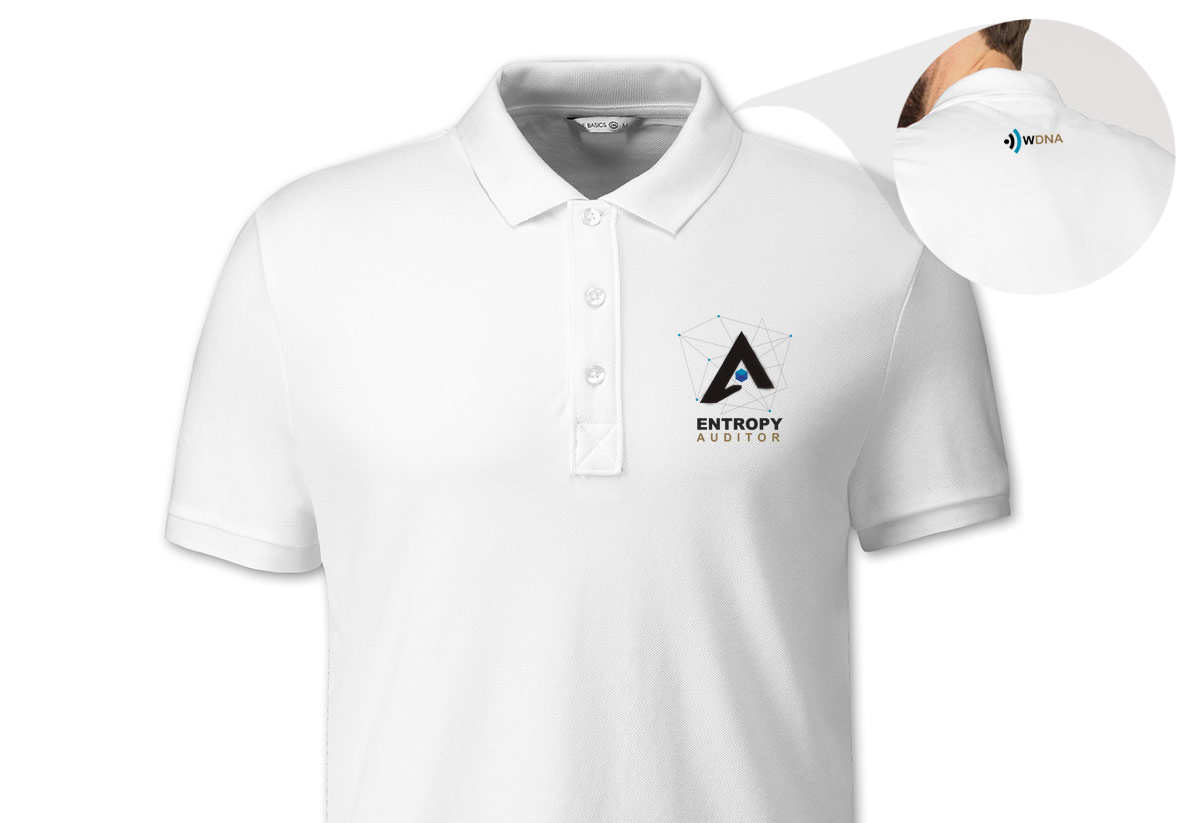 New Polo shirts in Wireless DNA Network optimization and Network Auditor Company
