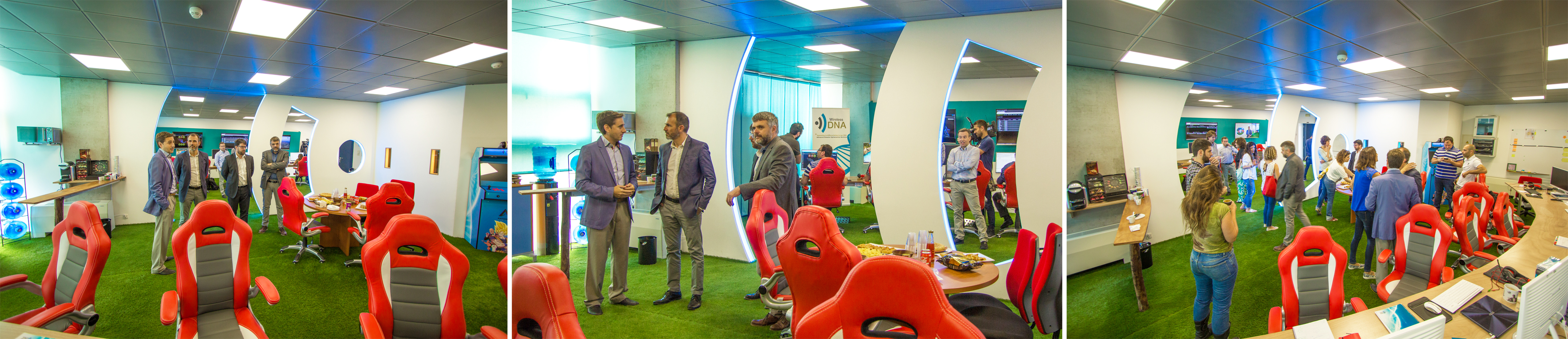 BIEL BARCELO, VICE PRESIDENT OF BALEARIC ISLANDS GOVERNMENT AND CONSOUL OF INNOVATION, RESEARCH AND TOURISM WAS VISITING Wireless DNA!