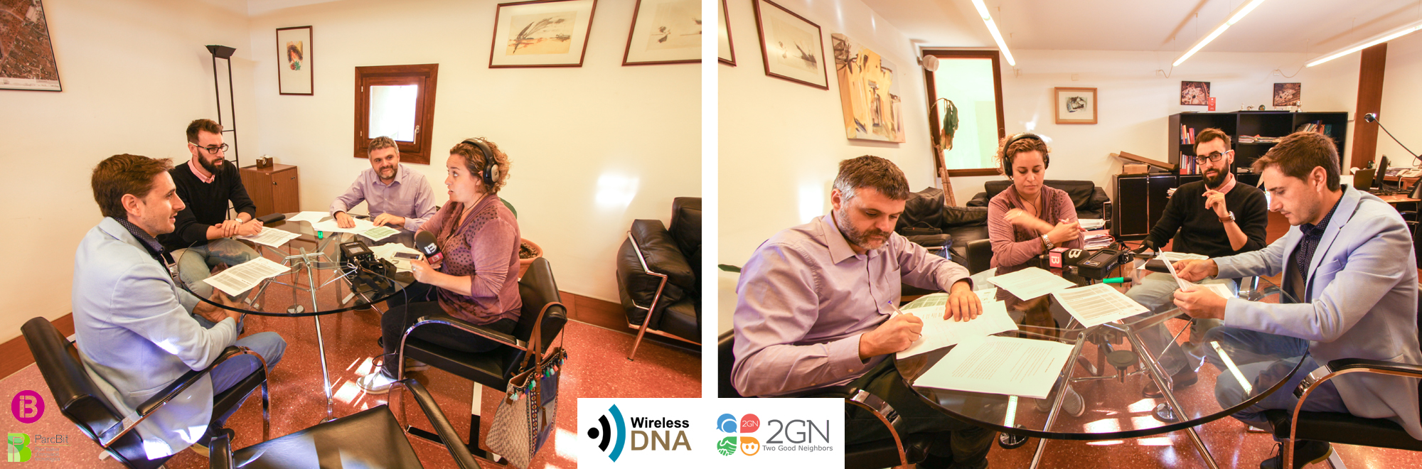 WIRELESS DNA INTERVIEW IN IB3 RADIO