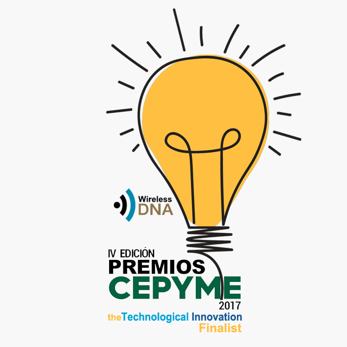 WIRELESS DNA NETWORK OPTIMIZATION – THE TECHNOLOGICAL INNOVATION FINALIST OF IV PREMIOS CEPYME 2017!