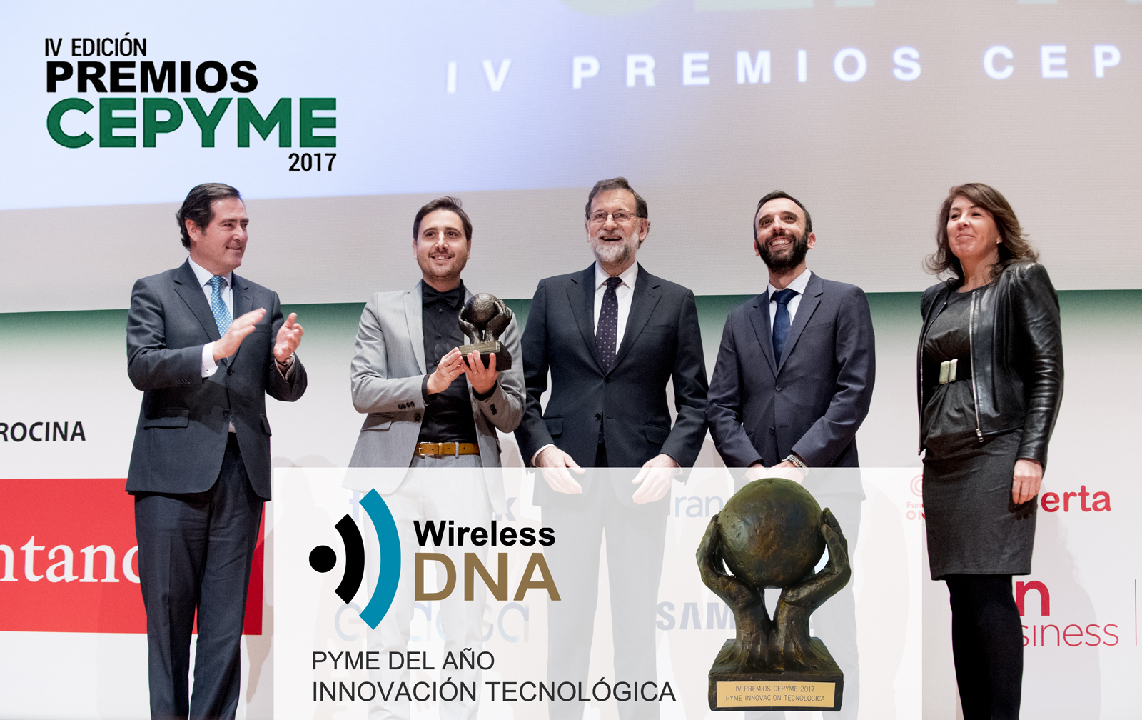 WIRELESS DNA CEPYME 2017 INNOCAVION TECNOLOGICA